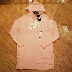 NWT Nike sweatshirt dress